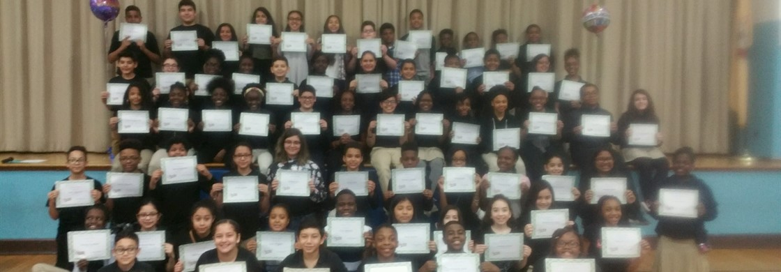 """Congratulations to the Sixth Grade Honor Roll students"""