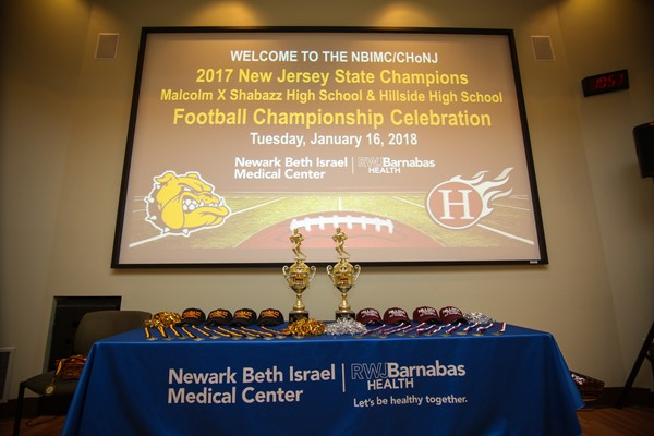 Beth Israel Football Recognition Ceremony