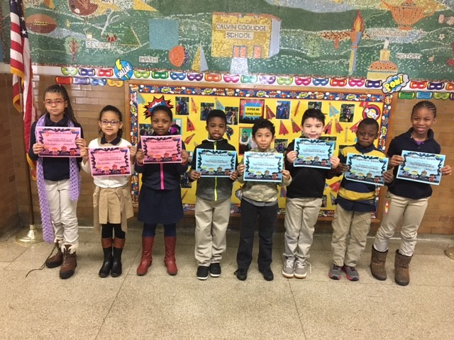 Super Students and Readers of the Month