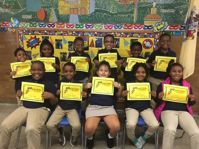 Super Readers of the Month