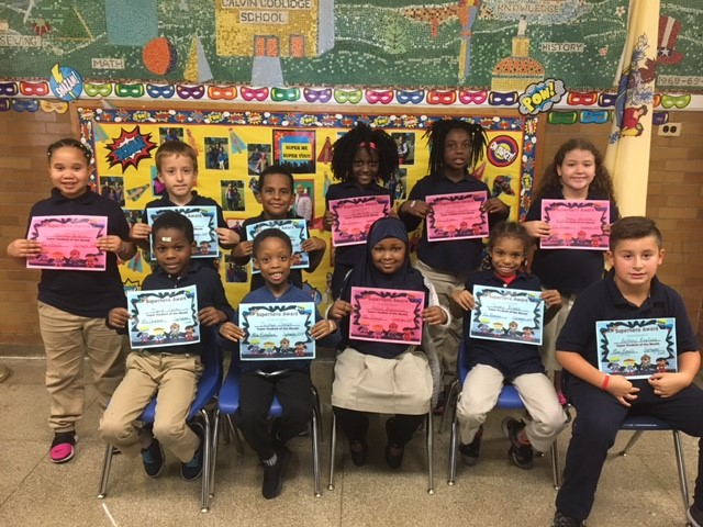 Super Students of the Month